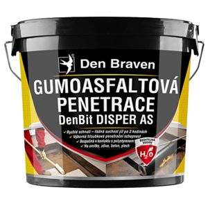 Gumoasfaltová penetrace DenBit DISPER AS 5 kg
