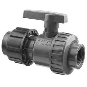 """PVC ventil kulový 40 x f5/4"""""""