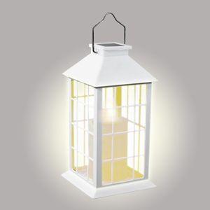 Svítidlo solar lucernička bílá