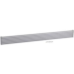 Ventilační mřížka design 90x900mm, AL, Elox Hliník
