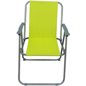 Zahradní židle skládací Piknik zelený