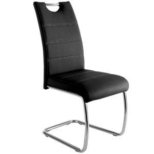 Židle U-5 Černá